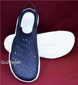 18ddb7b1b112 Crocs Swiftwater Wave Men s Water Shoes - Sure Fit Style - Navy   White  Size 11