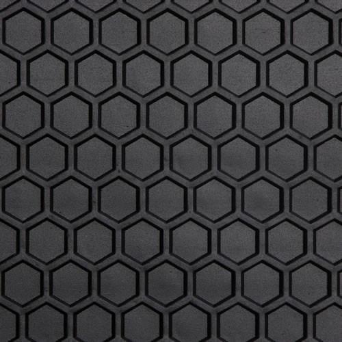 Custom All Weather Hexomat Heavy Duty Rubber Floor Mat
