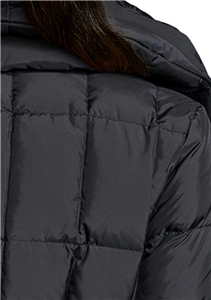 Cole Haan Black Down Jacket Women S Box Quilted Zip Front