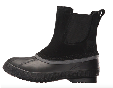Sorel  Boys Cheyanne II Chelsea Pull On Boot Youth 1-2-3-4-7 Suede Winter Snow