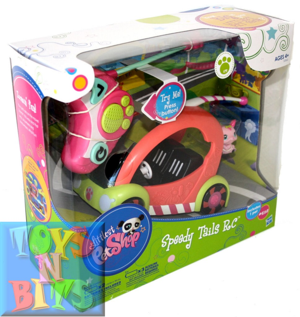 Littlest Pet Shop Speedy Tails RC Remote Control Car