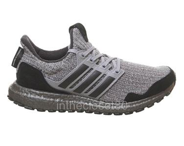 7e4393764e5fd Adidas Ultra Boost x Game of Thrones House Stark Winter Coming Grey Black  EE3709