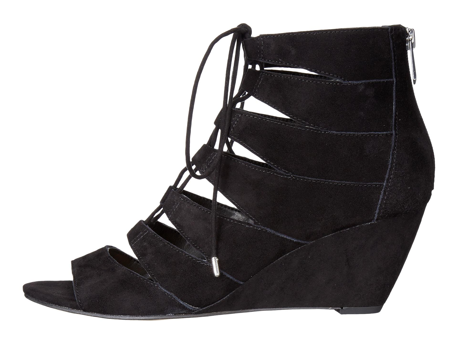 SAM-EDELMAN-WOMENS-SANTINA-GLADIATOR-SANDALS-LEATHER-SUEDE-WEDGE-SHOES-BLACK-NEW