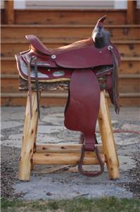 Country Western Furniture Rustic Bar Stools Saddle 110