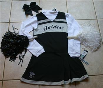 RED Cheerleader OUTFIT COSTUME TEXAS TECH DELUXE POM POMS /& CHEER BOW 12-14 SET