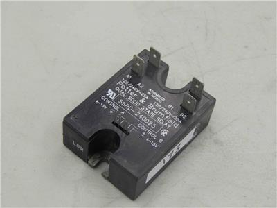 POTTER AND BRUMFIELD SSRD-240D25 DUAL SOLID STATE RELAY