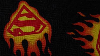 Dc Comics Black Red Yellow Superman Logo Repeat Poly Necktie Tie Mau1819b G13 Ebay