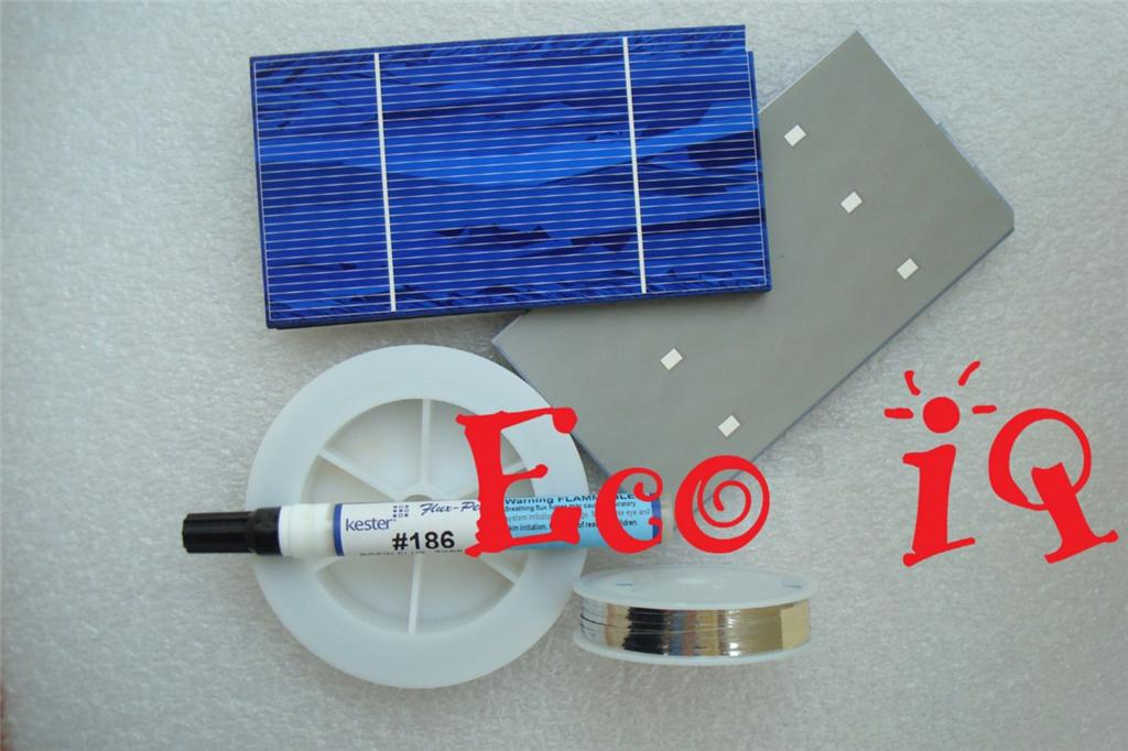 Solar Cells Panel Kit 360 Solar Cells Tabbing Wire Bus Wire