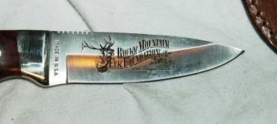 RMEF Rocky Mountain Elk Foundation 2000 Banquet Knife ...