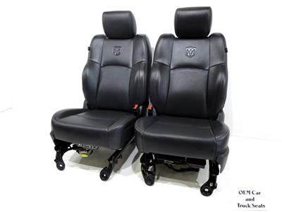 Chevy Silverado Replacement Seats >> Replacement Dodge Ram 1500 2500 Leather Seats Heat A/c 2009 2010 2011 2012 2013 2014 2015 ...