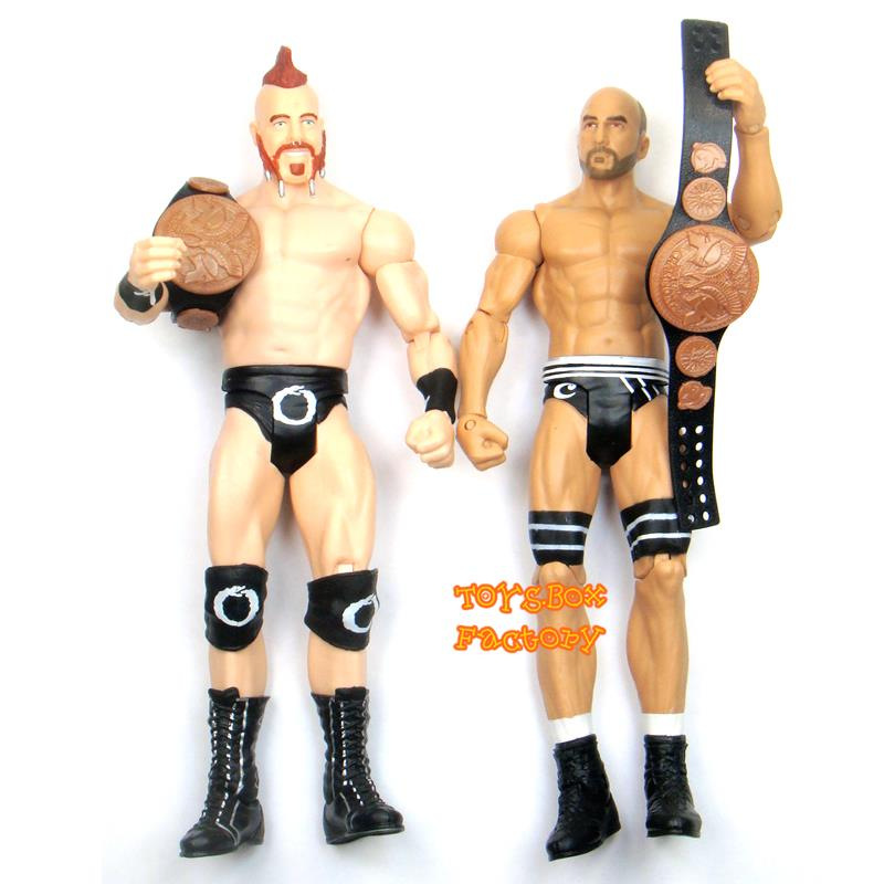 4x WWE Rock Enzo Amore Ryback Sheamus Wrestling Action Figure Kid Child Toys Set