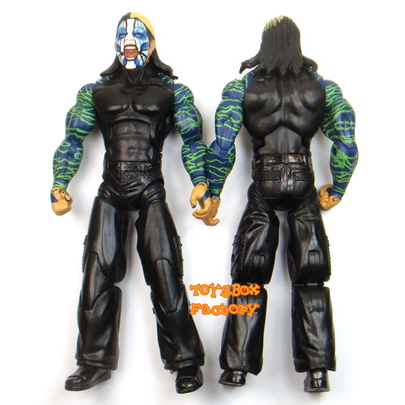 Wrestling Toys For Boys : Deluxe wwe tna jeff hardy boys wrestling action figure