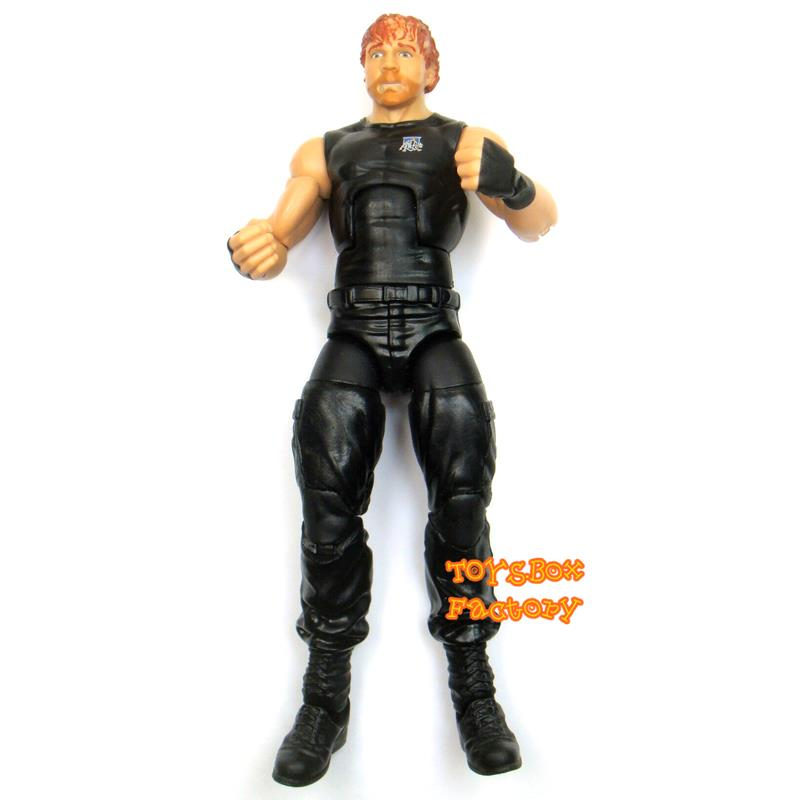 Details about WWE The Shield Dean Ambrose Elite Wrestling Action Figure Kid  Child Toy Mattel