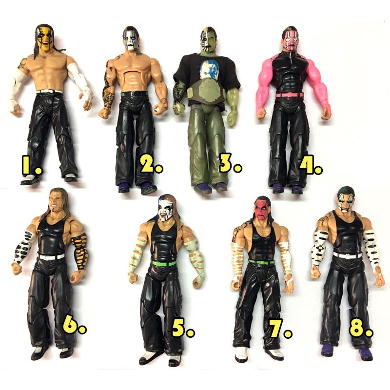 Action Toys For Boys : Deluxe wwe tna jeff hardy boys wrestling action figure