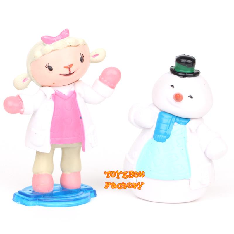 Doc McStuffins Lambie Chilly Stuffy Hallie Kid Toy Cake Topper FIGURE FIGURINE