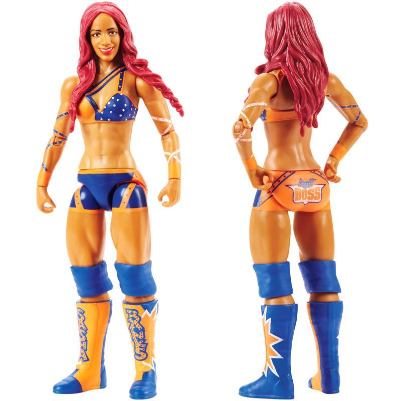 NXT WWE Nia Jax Series 72 Divas Woman Wrestling Action Figure Kid Mattel Toy