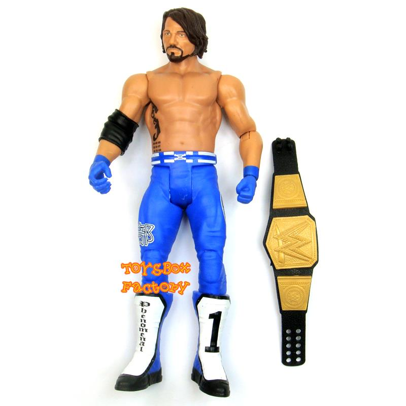 """WWE AJ Styles /"""" The Phenomenal /"""" P1 Wrestling Action Figure Kid Child Youth Toys"""