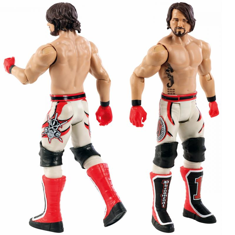 "WWE AJ Styles /"" The Phenomenal /"" P1 Wrestling Action Figure Kid Child Youth Toys"