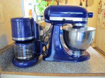 Kitchenaid Ksm90 Stand Mixer Cobalt Blue Amp Coffee Maker Ebay