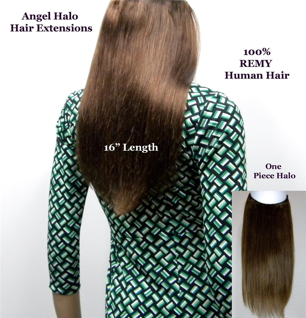 """Flip in Type 16"""" ANGEL HALO HAIR EXTENSIONS One Piece 100% ..."""