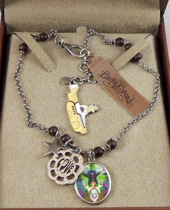 Beatles Charm Bracelet: Lucky Brand Jewelry Ltd Edition The Beatles Yellow
