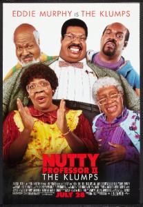 NUTTY PROFESSOR II THE KLUMPS D/S Original Movie Poster | eBay