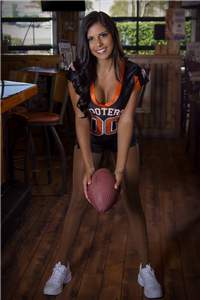 In uniforms girls Hot hooters